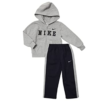 8d1750b1bf51 Image Unavailable. Image not available for. Color  Nike Fleece Hoodie   Active  Pants Set - Baby 24m