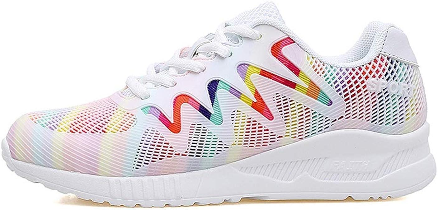 Zapatillas de Mujer Zapatillas Deportivas Deportivas al Aire Libre para Correr al Aire Libre Zapatillas Bajas y cómodas para Caminar en el Gimnasio: Amazon.es: Zapatos y complementos