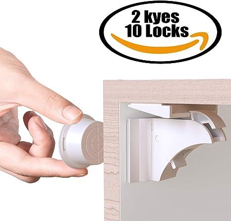Cerraduras Invisible Magnéticas de Seguridad para Niños, M-TK ...