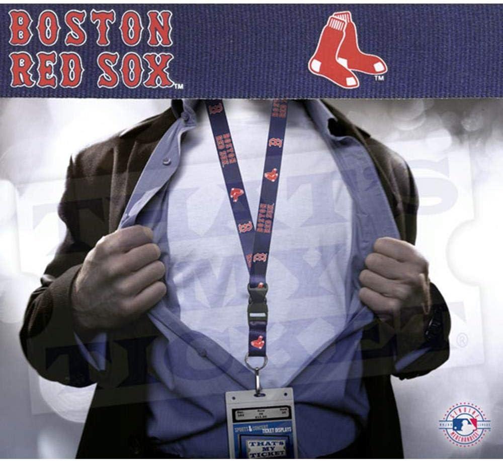 MLB Team Lanyard with Detachable Clip//Key Ring