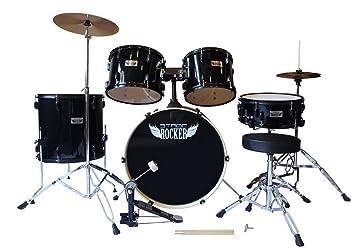 Amazon Com Stage Rocker 5pc Drum Set With Double Braced Hardware