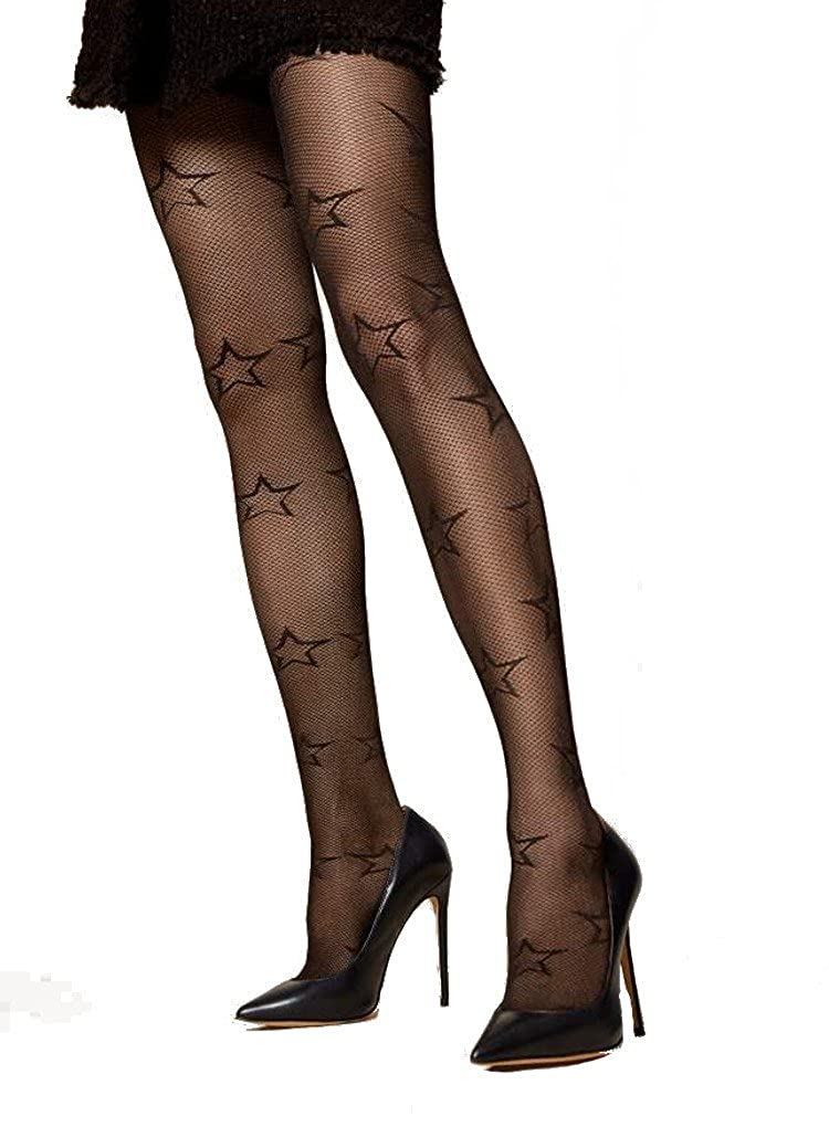 991ddd9f2 Fiore Stella Star Patterned Tights  Amazon.co.uk  Clothing