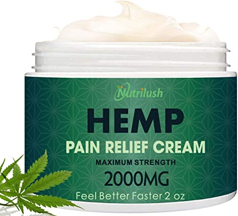 Hemp Pain Relief Cream (2000 Mg)