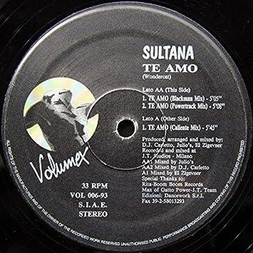 Sultana - Te Amo - Amazon com Music