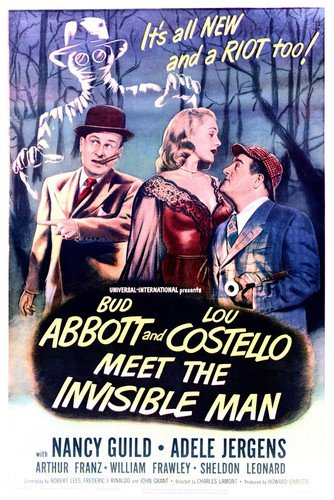 Nancy Guild in Abbott and Costello Meet the Invisible Man 24x36 Poster
