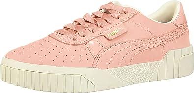 PUMA Womens Cali Nubuck Casual Sneakers