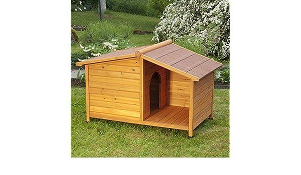 Spike Caseta de Madera Special L: 132 x 85 x 86 cm (L x An x Al): Amazon.es: Productos para mascotas