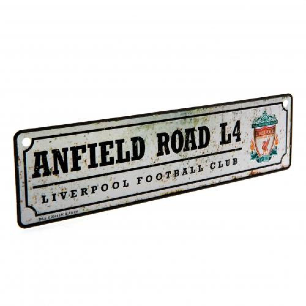 Liverpool FC Official Football Gift Retro Window Sign - A Great Christmas / Birthday Gift Idea For Men And Boys