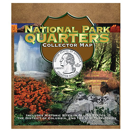 National Park Quarter Foam Map