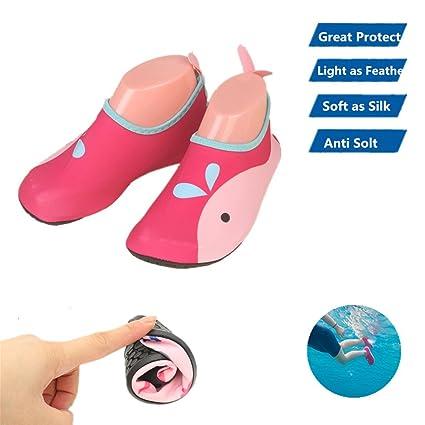 Agua Calcetines Niños Cute antideslizante Swim zapatos niño ...