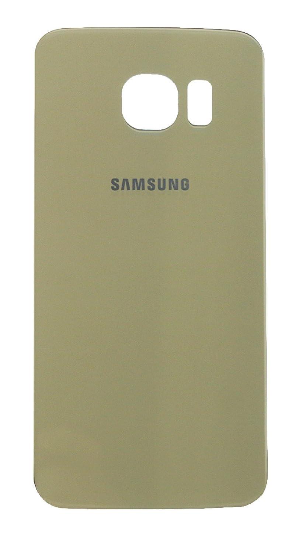 Ilovemyphone Tapa Bateria para Samsung Galaxy S6 Edge G925F Color Oro Back Cover Trasera