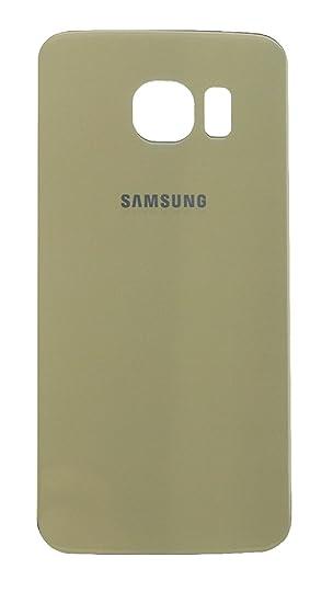 Tapa Bateria para Samsung Galaxy S6 Edge G925F Color Oro Back Cover Trasera - Ilovemyphone