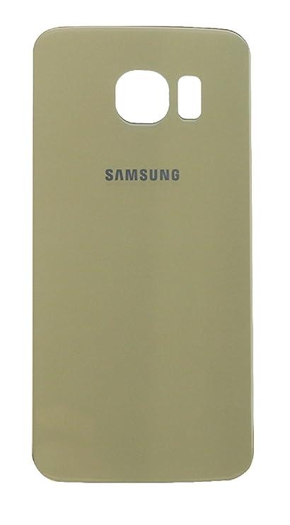 f09ea2c8316 Tapa Bateria para Samsung Galaxy S6 Edge G925F Color Oro Back Cover Trasera  - Ilovemyphone