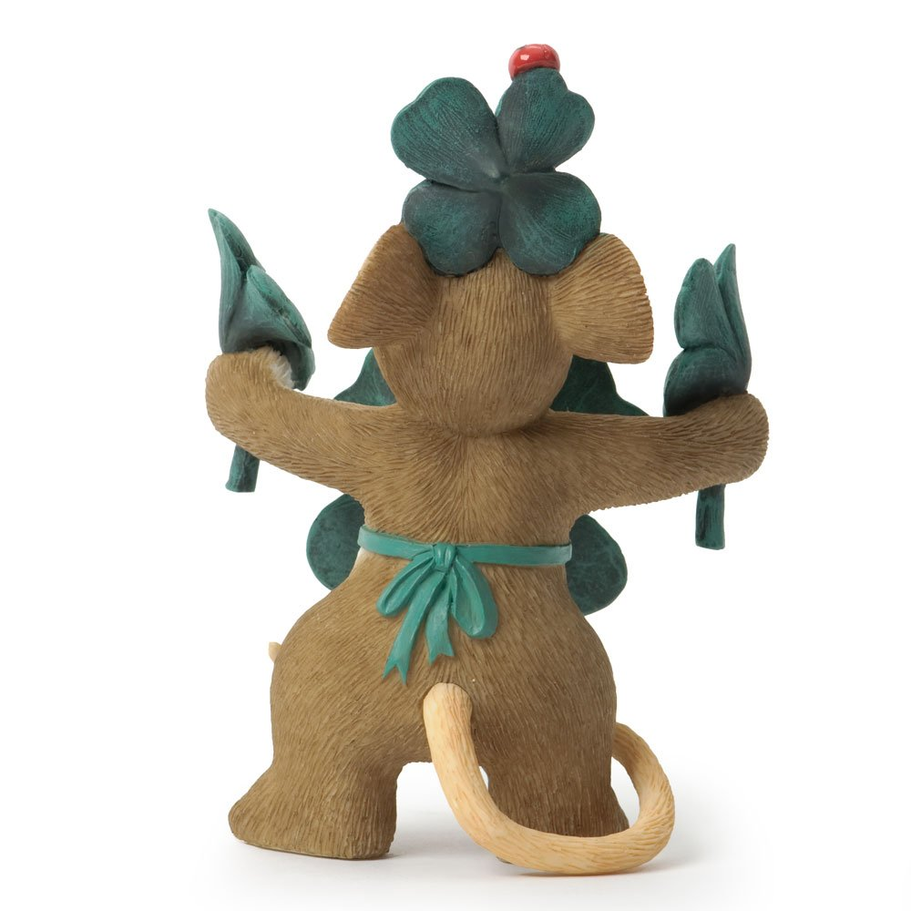 Enesco Charming Tails Lucky Figurine, 2.37 by 3.25-Inch