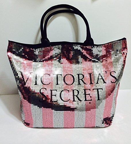Victorias Secret Weekender Duffle Travel Bag (Pink Bling ...