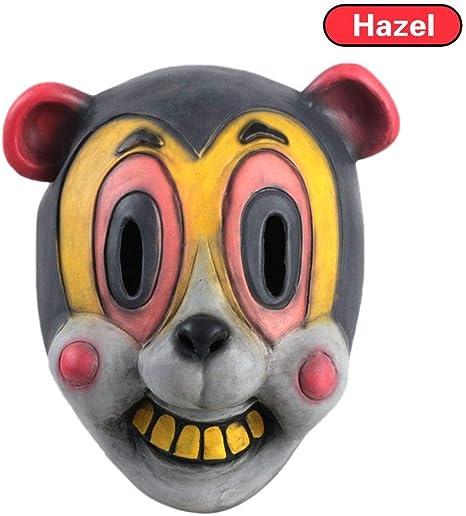 The Umbrella Academy Hazel Cha Cha Mask Halloween Cosplay Helmet Headgear Prop