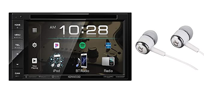3f13883668232 Kenwood DDX26BT 6.2 quot  In-Dash Double Din Touchscreen DVD CD Bluetooth  USB AM