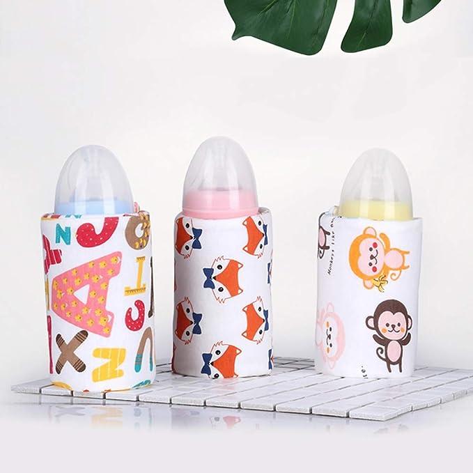 homese USB-Flaschenw/ärmer-Heizungs-H/ülse 40 ℃ Konstante Temperatur-tragbare Milch-Heizungs-Isolierungs-F/ütterungs-Flaschen-Abdeckung Kaffee-Teebecher