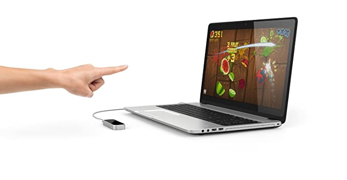 Leap Motion Controller - Controlador de movimiento para ordenador, plateado: Amazon.es: Informática