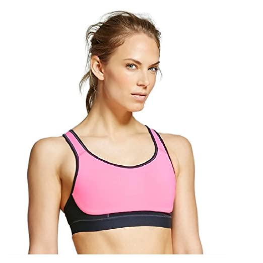 7dc2b8bc9b0 Champion Women s Power Shape Strappy Back Sports Bra at Amazon Women s  Clothing store