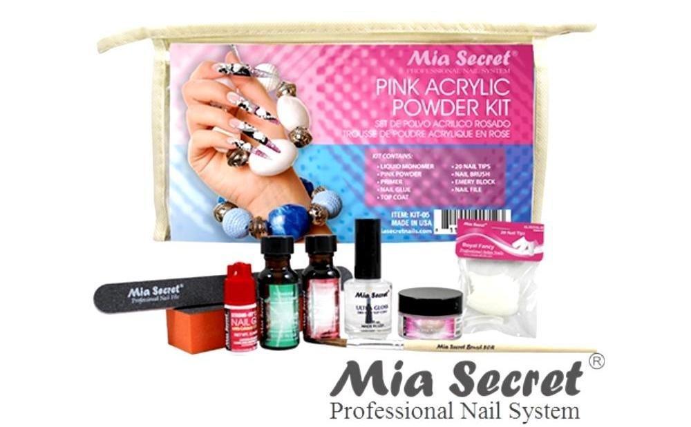 Amazon Mia Secret Pink Acrylic Powder Professional Full Nail