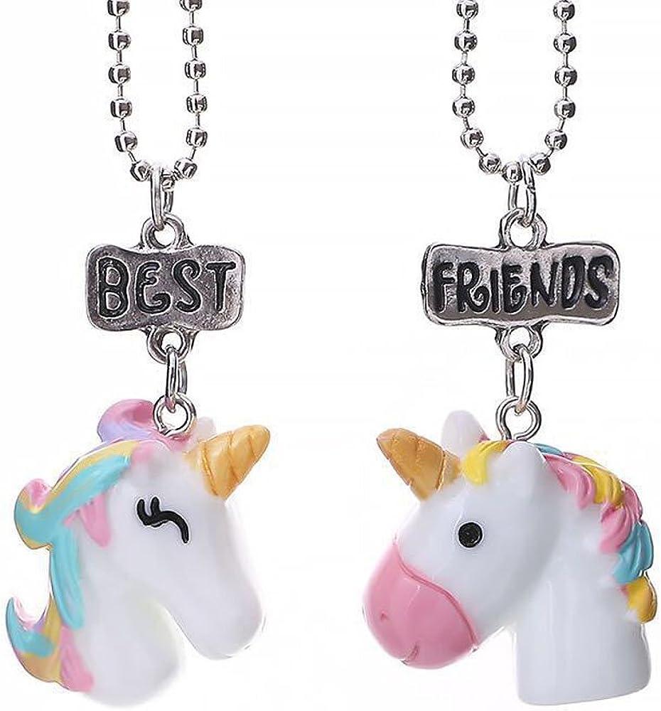 Fashion Best Friends Charms Collier Boussole Amitié Ados Enfant Fille Cadeaux