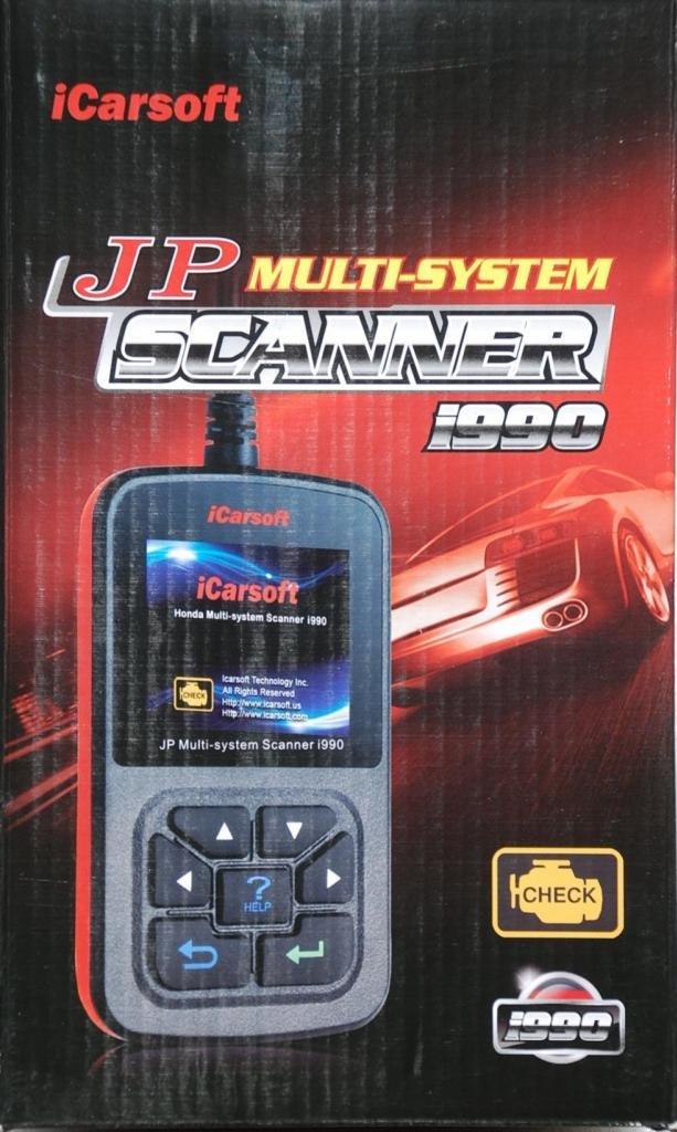 iCarsoft ACURA HONDA OBD2 CAR DIAGNOSTIC SCANNER TOOL READ RESET ERASE FAULT CODES i990