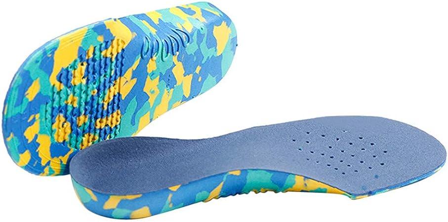 Yu2d - Plantillas de Apoyo para el Arco del pie para niños, ortopédicas, corrección, para el Cuidado de los pies (Azul): Amazon.es: Hogar