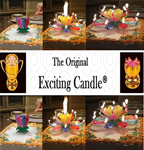 Gift Exhange Gift People Will Love - 2 Pack Rainbow Exciting Birthday Candle