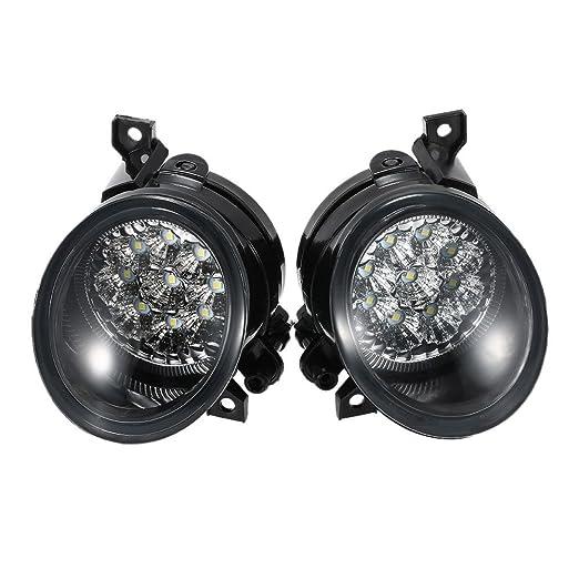 2 opinioni per KKmoon EPL9430435832619MJ Coppia di 9 LED Luce Brillante Bianco Fendinebbia