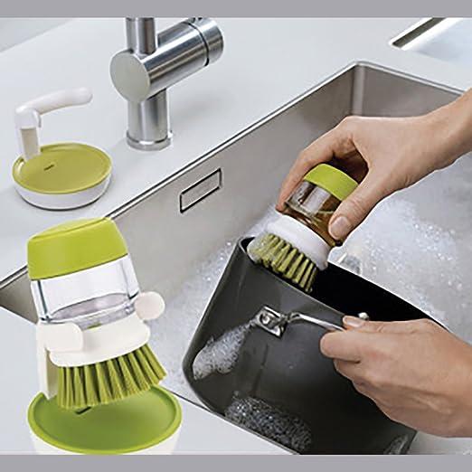 Jabón Dispensador de jabón Depósito de detergente lavavajillas ...