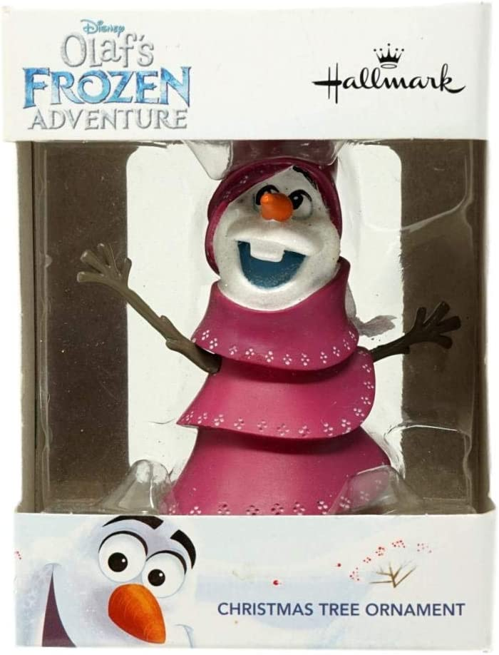Hallmark Disney Olafs Frozen Adventure Olaf in Tree Christmas Ornament 2017