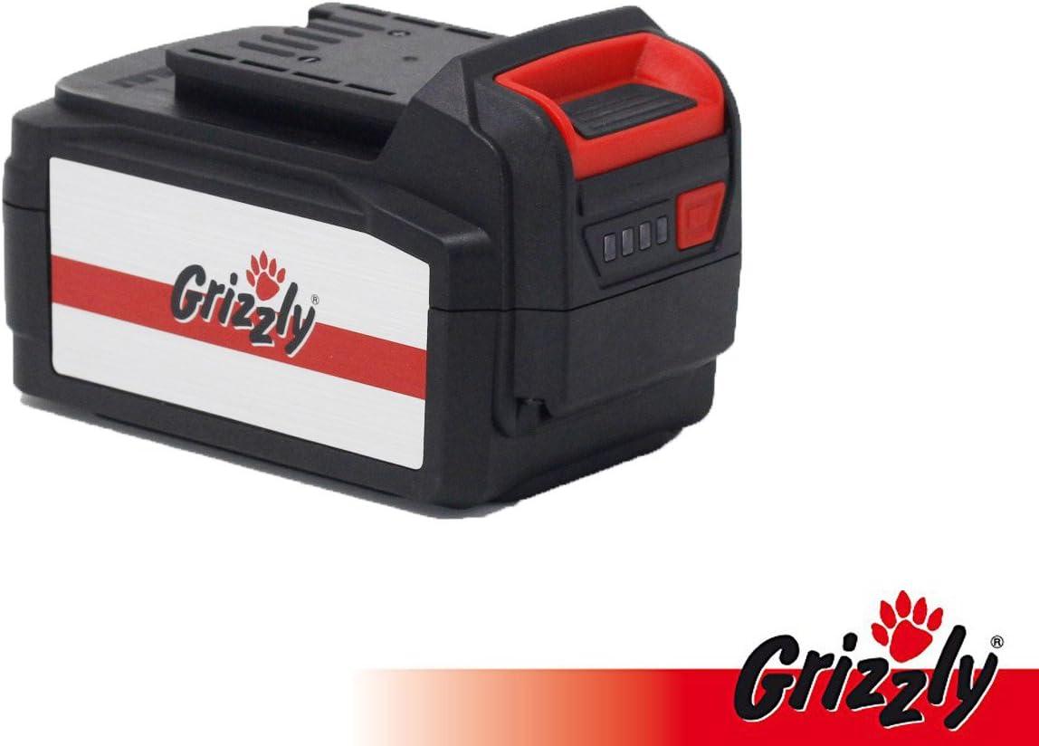Grizzly Batería 24V, 3.0Ah, Batería de Repuesto, Accesorios Batería Cortacésped Brazo 2433–20