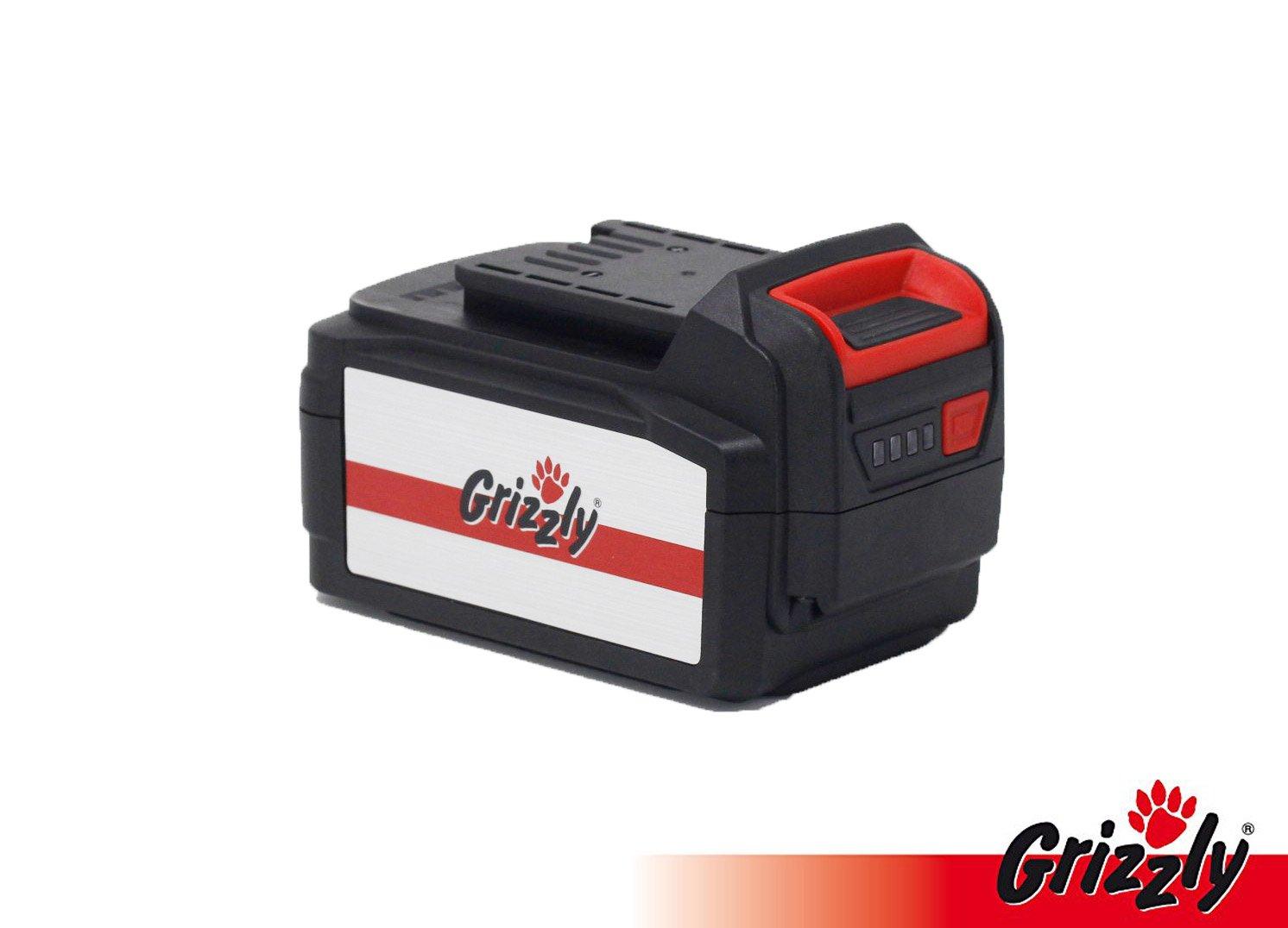 Grizzly Batería 24 V, 3.0 Ah, Batería de Repuesto, Accesorios ...