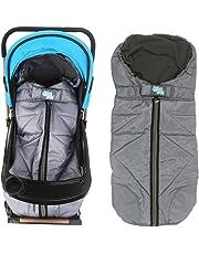 Lemonda Winter Outdoor Tour Waterproof Baby Infant Universal Stroller Sleeping Bag Warm Footmuff Sack,Anti-kicking Sleeping Nest,Wearable Stroller Blanket (Grey)