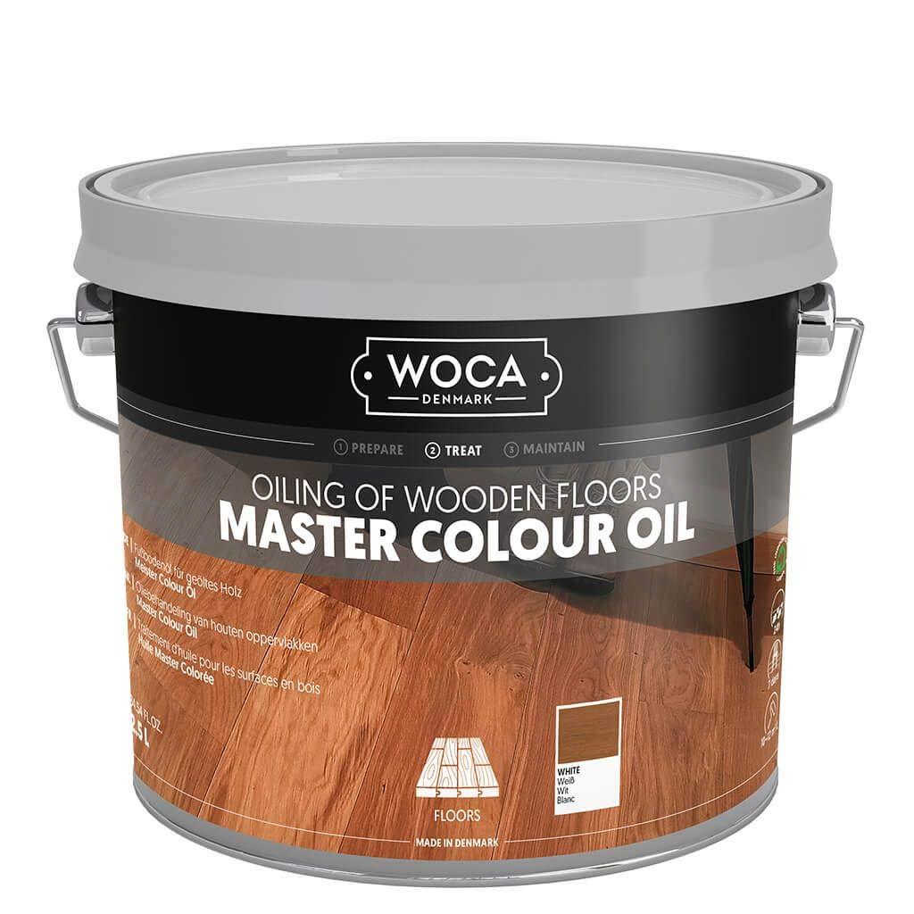 Woca Master Floor Oil- White 2.5 Liters by Woca