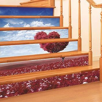 El árbol de amor se puede quitar de la escalera de escaleras de PVC {6 piezas}: Amazon.es: Bricolaje y herramientas