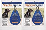 (2 Pack) SpectraShield Flea/Tick Tag For Dogs Over 56 Pounds
