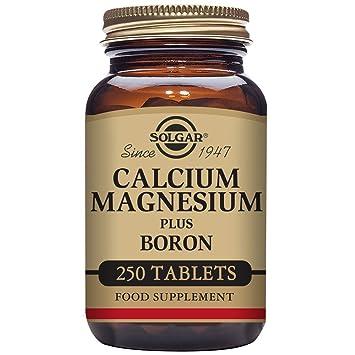 Solgar Calcium Magnesium Plus Boron Tablets Pack Of 250 Amazon Co