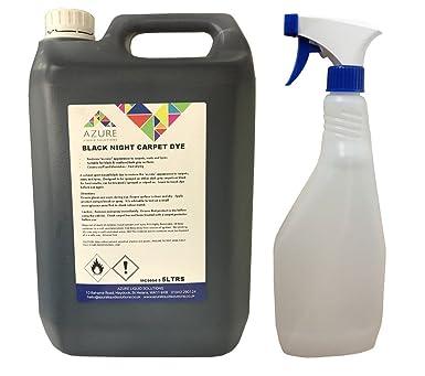 Azure Liquid Solutions - Alfombrillas de tinte para coche nocturno, color negro, para renovación de interiores – 5 l + botella de spray gratis