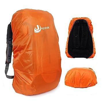 Jepeak Waterproof Backpack Rain Cover 35L-45L Daypack Dustproof Rainproof  Protector Raincover (Elastic Adjustable 1e893036a6