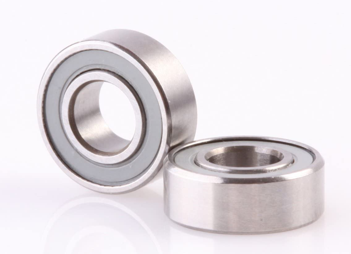 MR115 Size Ceramic Bearings 5x11x4mm (2) by ACER Racing
