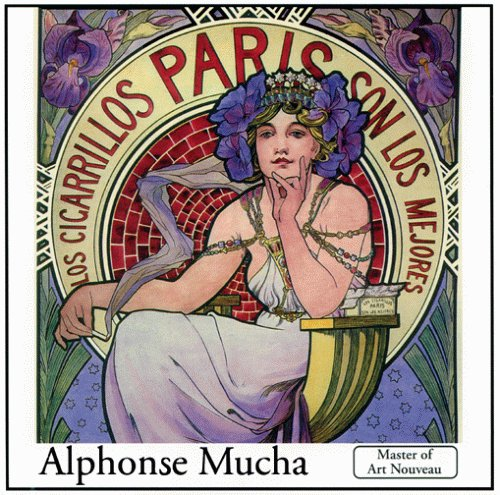 Alphonse Mucha The Complete Works on CD (PC only) by A J Fine Art Ltd