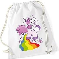 Pooping Unicorn Sac De Gym Blanc Certified Freak