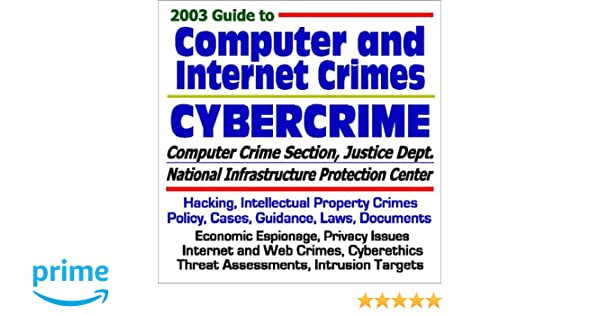 2003 Guide to Computer and Internet Crimes and Cybercrime