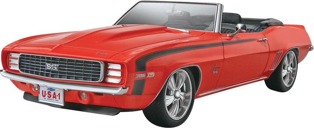 Revell '69 Camaro SS/RS Convertible 2'n 1