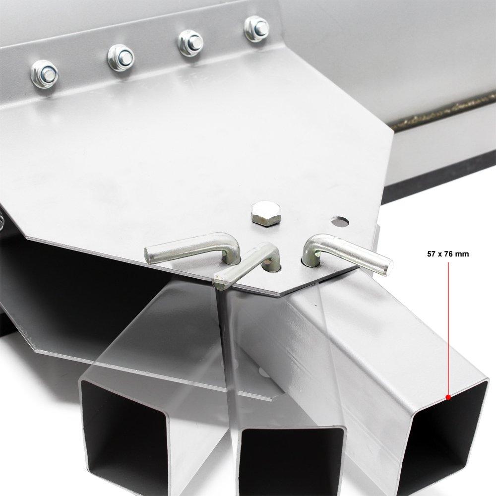 WilTec Pala quitanieves Ajustable 1000x400mm Cuchilla quitanieves ...