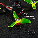 quad copter brushless motor - iFlight Nazgul T3061 12pcs 3inch Propellers Props CW CCW for 1306 1407 1508 1606 Brushless Motor FPV Quadcopter Drone (Crystal Green)