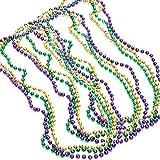 Mardi Gras Disco Ball Beads - 24 pack (24)