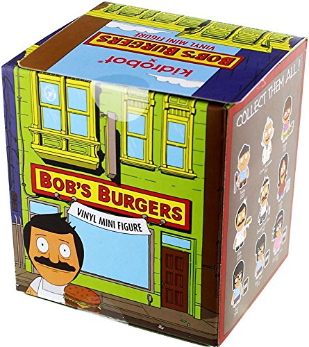 Kidrobot Vinyl Figure (One Blind Box Bob's Burgers Vinyl Mini Figure by Kidrobot)